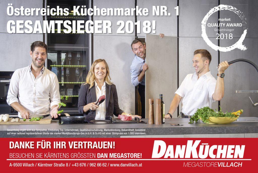 Osterreichs Kuchenmarke Nr 1 Gesamtsieger 2018 Dan Kuchen